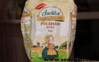Рецепт житнього хліба в хлібопічці Панасонік