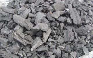 Як зробити деревне вугілля
