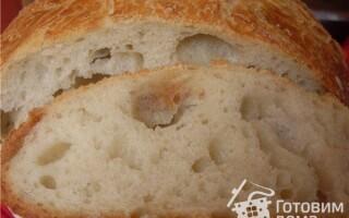 Хліб в каструлі в духовці рецепт з фото