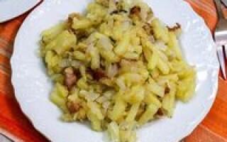 Чеські страви з картоплі