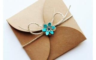 Як зробити конверт