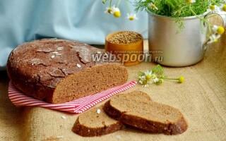 Заварний хліб на заквасці рецепт в духовці