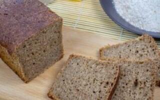 Цільнозерновий хліб на заквасці рецепт