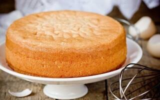 Як зробити бісквітне тісто