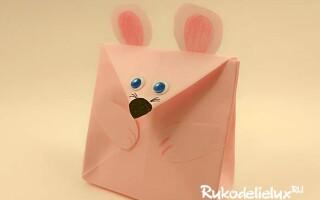 Як зробити сумку з паперу