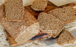Бородинський заварний хліб рецепт