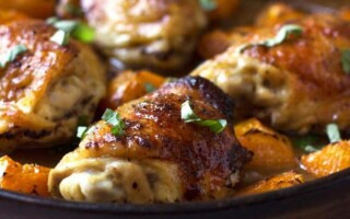 Філе стегна курки рецепти в духовці з картоплею