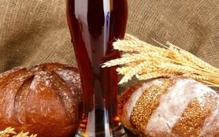 Рецепт квасу з чорного хліба