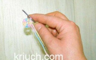 Як зробити першу петлю гачком