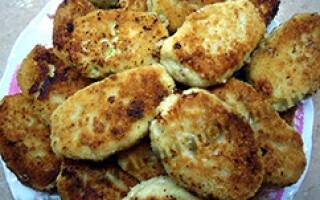 Рибні котлети рецепт без хліба