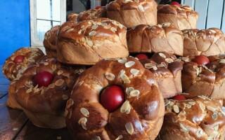 Цурекі грецький великодній хліб рецепт