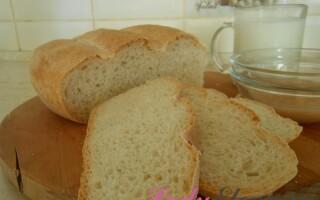 Як пекти хліб в домашніх умовах в духовці рецепт з пшеничного борошна