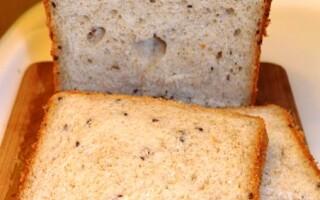 Хліб з насінням льону в хлібопічці рецепти форум