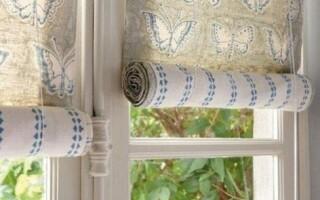 Як зробити рулонні штори своїми руками