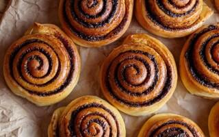 Як зробити булочки з корицею