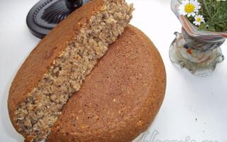 Цільнозерновий хліб в мультиварці рецепти