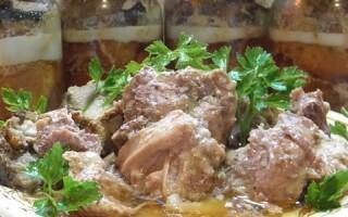 Як зробити тушонку в домашніх умовах зі свинини