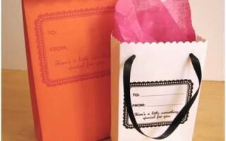 Як зробити пакет з паперу
