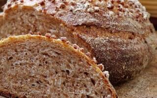 Хліб із зеленої гречки з псілліума рецепт