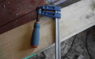 як полагодити струбцину