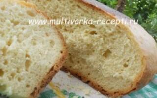 Рецепт хліба на заквасці в мультиварці