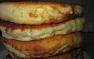 З цим рецептом забудеш що таке хліб пухнасті коржі на кефірі смачно і швидко