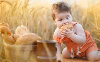 Хліб для дитини до року рецепт