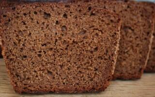 Хліб з борошна грубого помелу рецепт