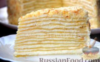 Як зробити торт наполеон