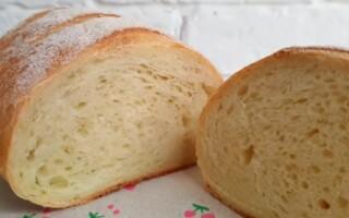 Рецепт хліба в духовці в домашніх умовах з сухими дріжджами на воді покроково з пшеничного борошна