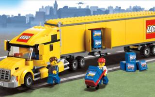 Як зробити з лего вантажівка