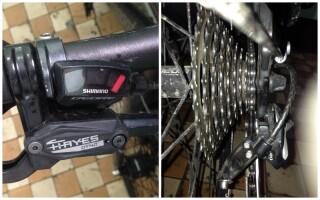 Не перемикайтеся швидкості на велосипеді на задньому колесі як полагодити