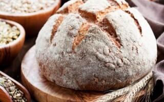 Хліб з обдирного пшеничного борошна в духовці рецепт з фото крок за кроком