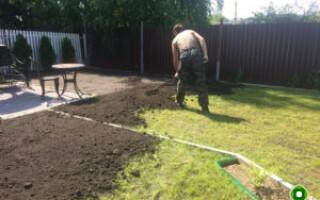 як відремонтувати газон