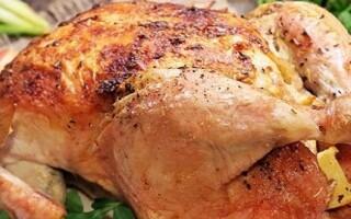 Як зробити курку в духовці