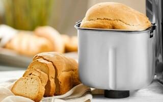Хліб в хлібопічці з розпушувачем рецепти