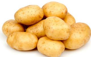 Свічки з сирої картоплі при геморої