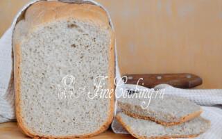 Рецепт дарницького хліба в хлібопічці Мулинекс