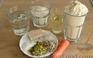 Хліб з морквою і насінням рецепт
