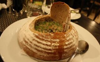 Гуляш в хлібі по чеськи рецепт з фото