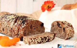 Хліб з житнього борошна без дріжджів в духовці рецепт