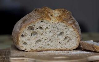 Хліб в духовці рецепти прості на пахте