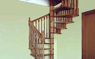 Як зробити кручені сходи