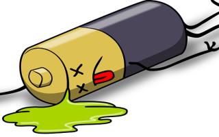 як полагодити батарейку