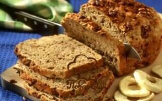 Рецепт солодкого хліба в хлібопічці