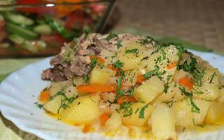 Картопля в скороварці