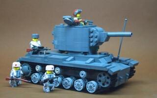 Як зробити з лего танк Т-34