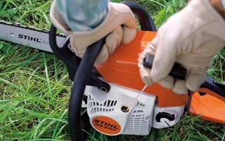 як полагодити стартер на бензопили