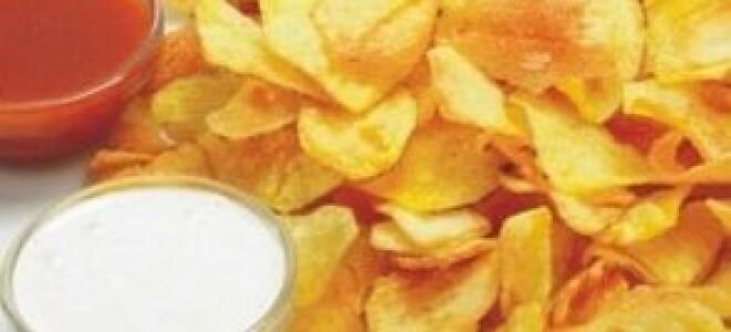 Чіпси на сковороді в домашніх умовах з картоплі