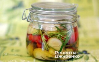 Салат з оселедцем і картоплею